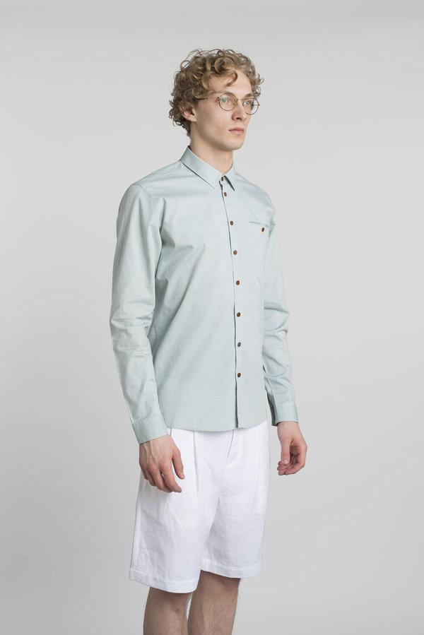 Delikatessen Proper Shirt - Mint Green