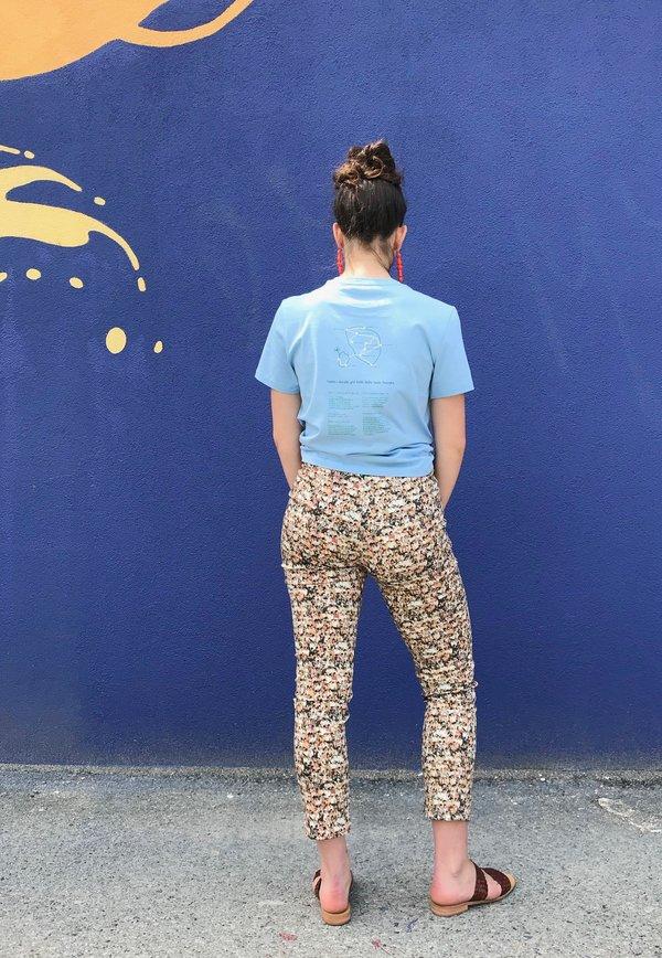 Paloma Wool Muchacho Pants - Beige/People Print