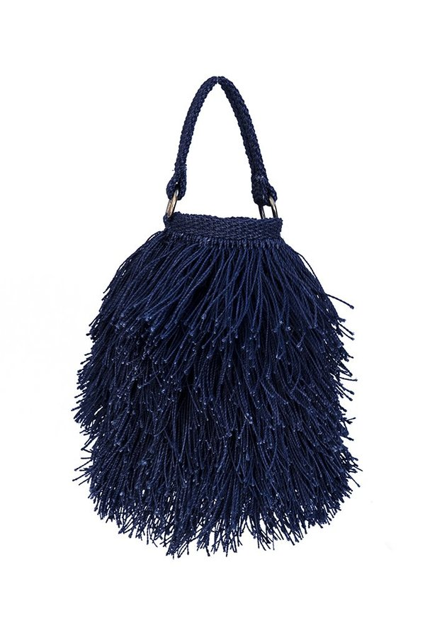 Angela Damman Bruja Bucket Bag - Indigo