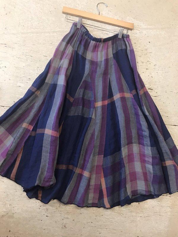 CP Shades Fanny Skirt - Madras Plaid Ink