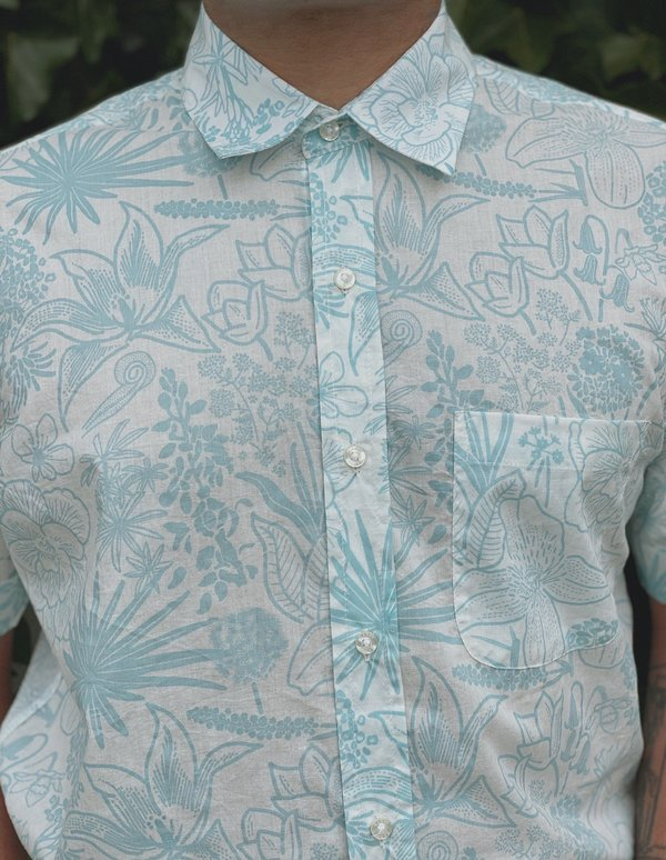 Kardo Sai Shirt - Riviera Flower