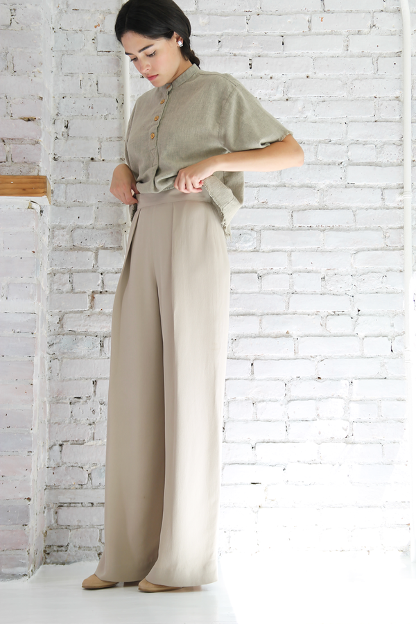 DUO NYC Vintage Escada Wide Leg Trousers