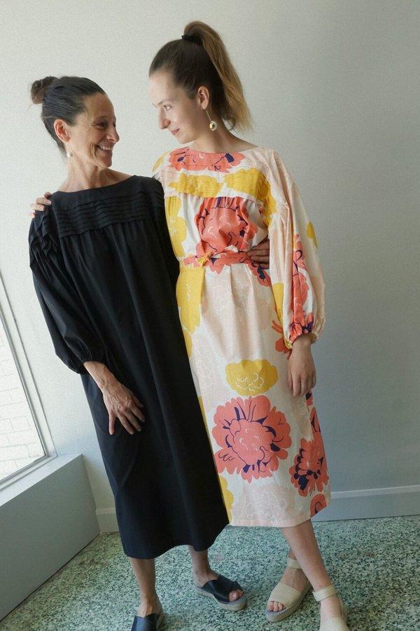 MARIMEKKO COTTON PRINT DRESS - PIONI PRINT