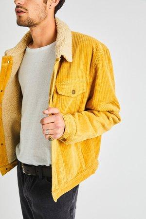 Rollas Morrison Sherpa Jacket - Honey