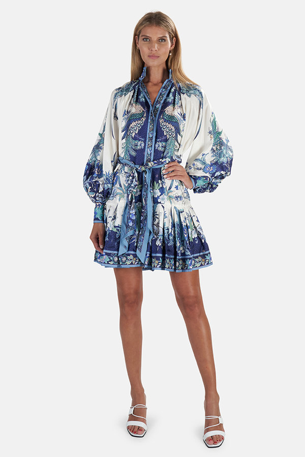 Zimmermann Glassy Placement Mini Dress