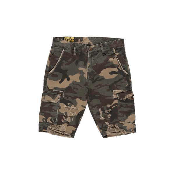 Jordan Craig Denim Shorts - Woodland