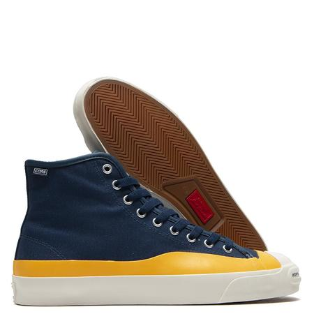 Converse x Pop Trading Company Jack Purcell Pro Hi Sneakers - Navy