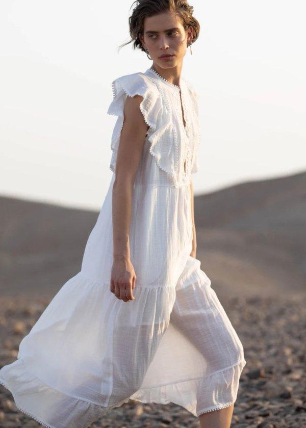 Sabina Musayev Olympia Dress - Ivory