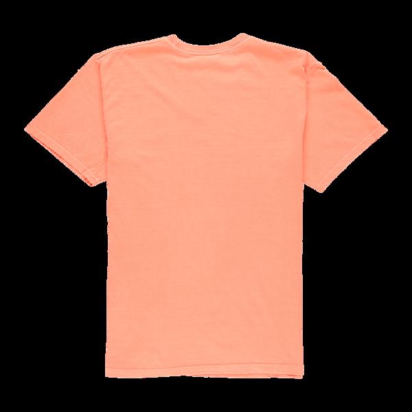 Stussy Basic Logo Pigment Dyed T Shirt - Neon Orange