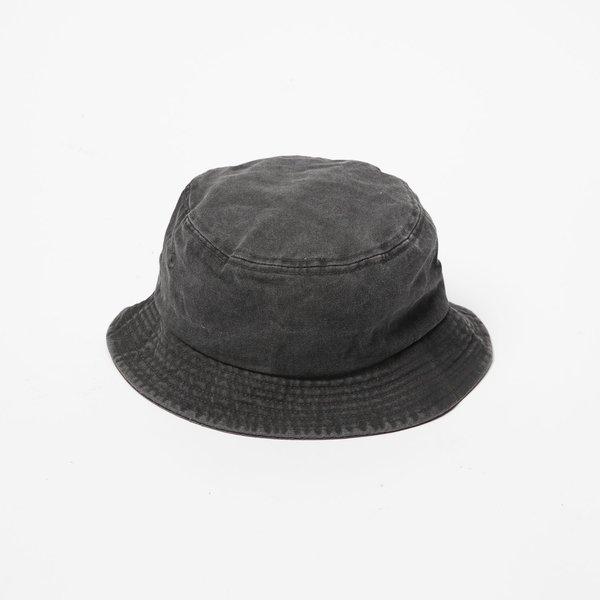 Stussy Stock Washed Bucket Hat - Black
