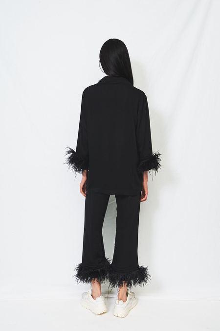 Sleeper Tie Pajama Set - Black