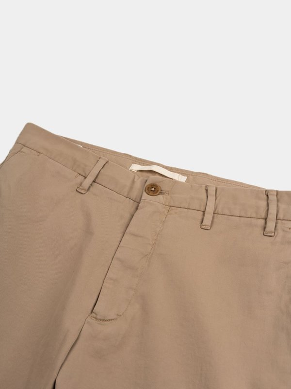 Norse Projects Aros Slim Light Stretch Utility Pant - Khaki