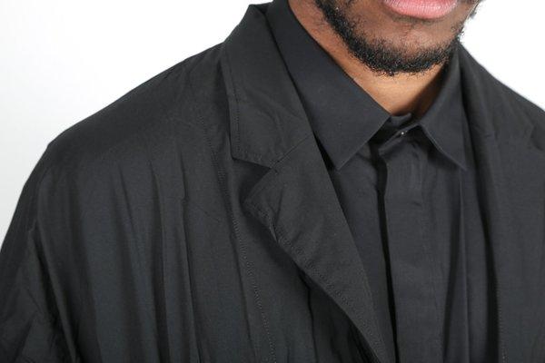 Y.O.N. Pleated Long Coat