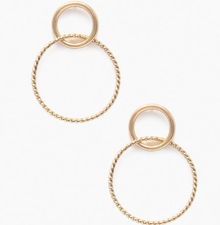 Pattino Shoe Boutique Able Virgil earrings - Gold