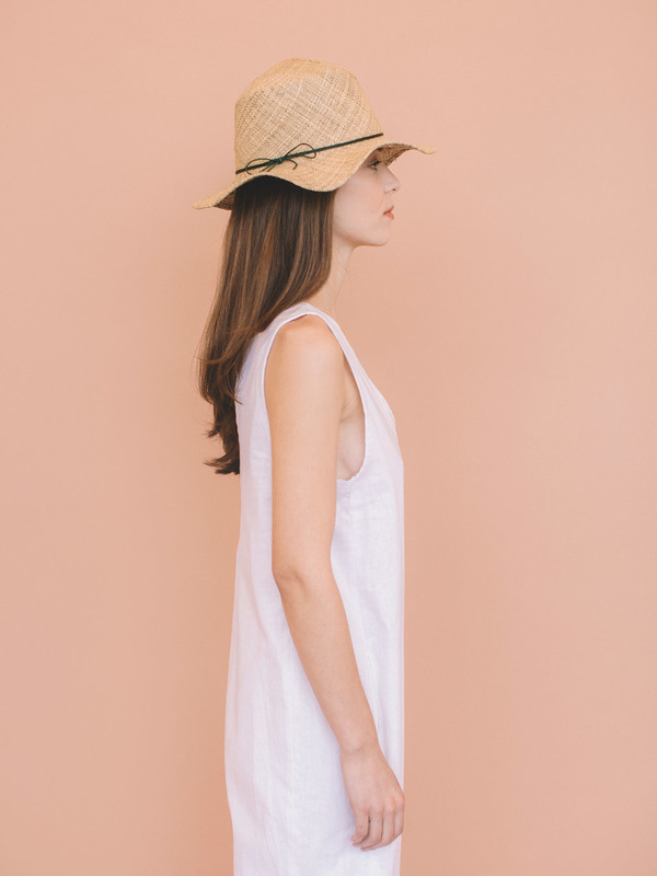Brookes Boswell Hale Straw Hat