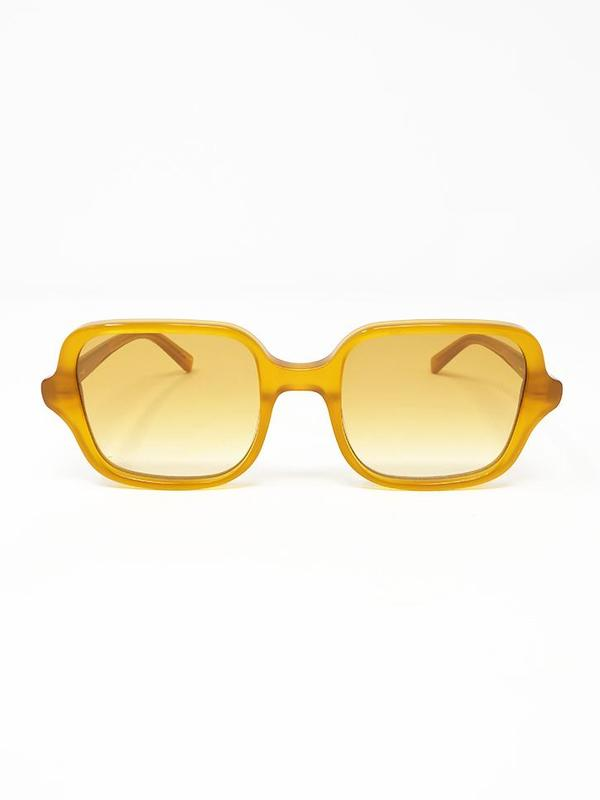 Chimi Square Sunglasses - Honey