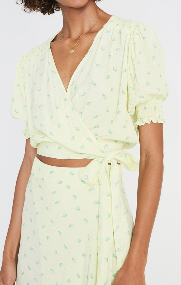Faithfull The Brand La Colle Top - Floral Print