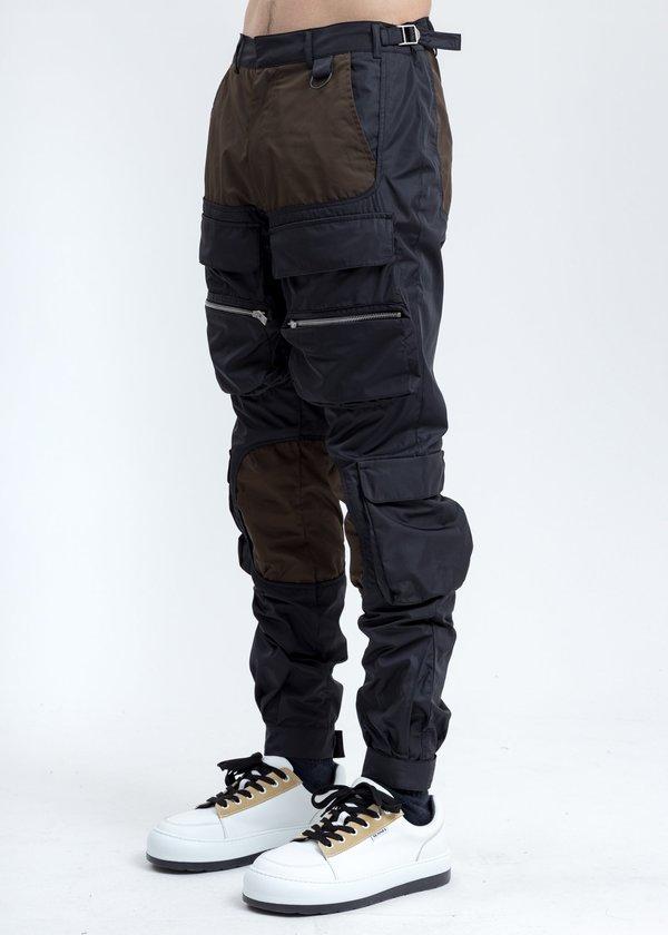 Represent Cargo Pants - Black/Brown