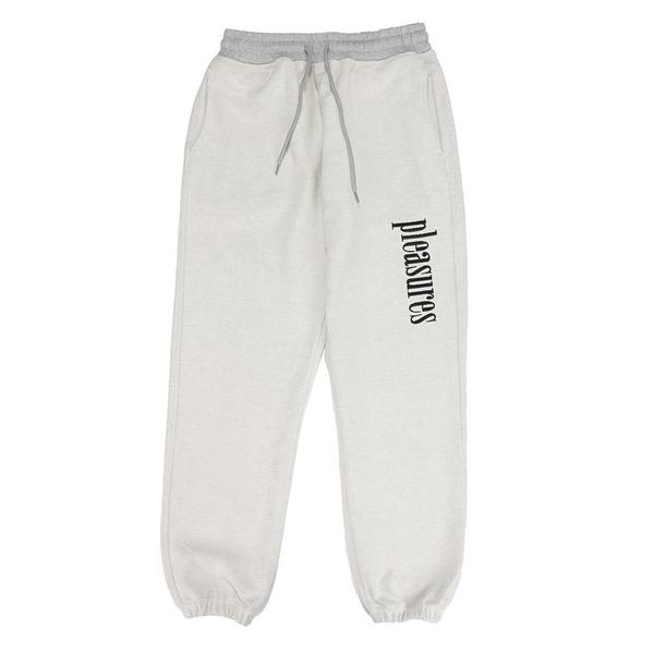 Pleasures Logic Reverse Terry Sweatpants - Grey