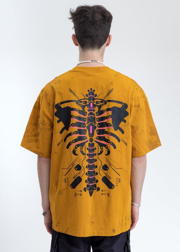 LXVI Logo T-Shirt - Yellow/Black