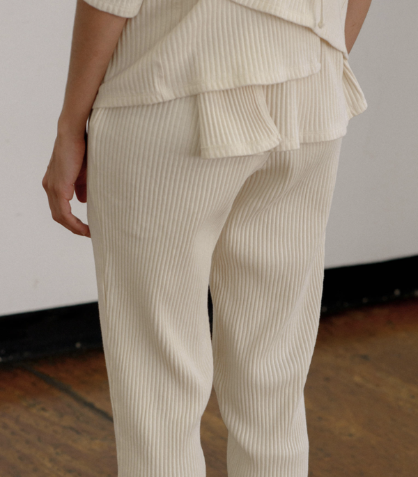 Baserange Sweat Pants - Off White