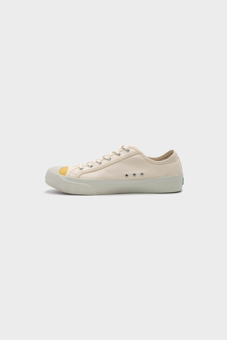 You Must Create Wing Tip Trainer - Ecru/Yellow