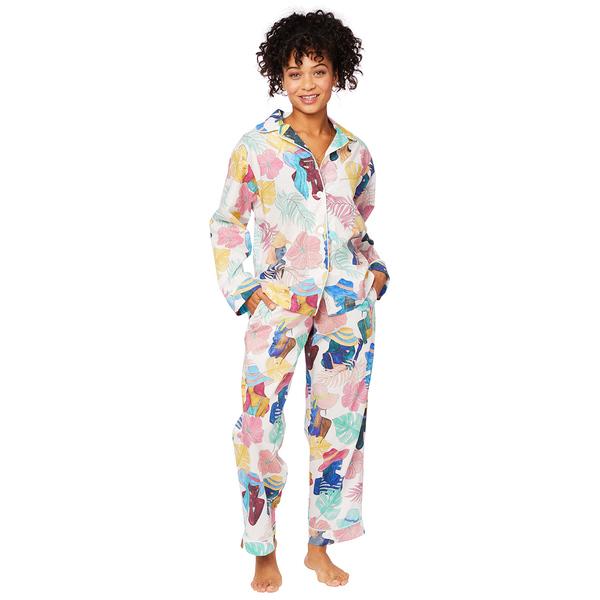Cat's Pajamas Seychelles Floral PJs
