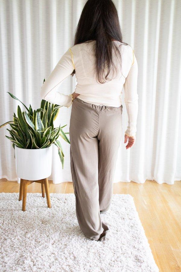 Tysa Drawstring Pant - Olive