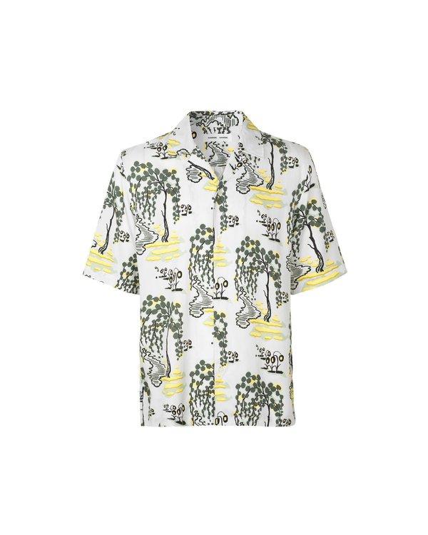 Samsøe & Samsøe Oscar Shirt - Forest Bright