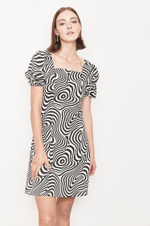 Arc & Bow PRE-ORDER Magnetic Dress - Black/White