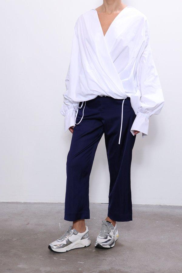 Jejia Coca Cotton Shirt - White