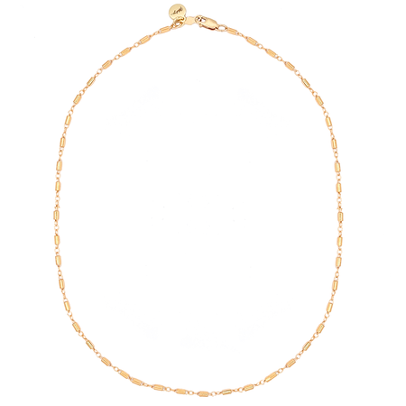 Mod + Jo Mon Cheri Shorty Necklace - Gold