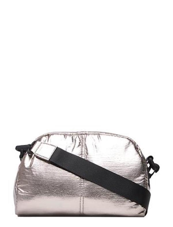 Filippa K Soft Sport Metallic Mini Crossbody - Nickel