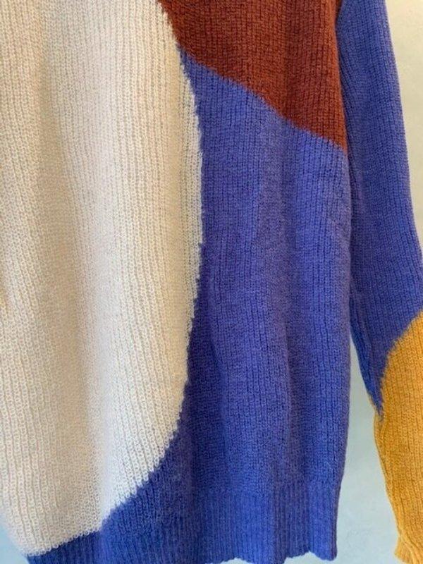 Aymara Felice Sweater - Wine/Lilac/Air