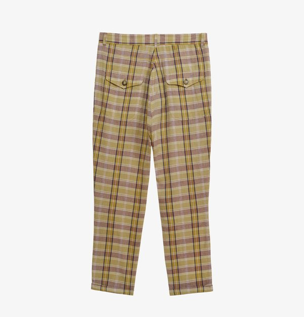 Soeur Icone checked Trousers
