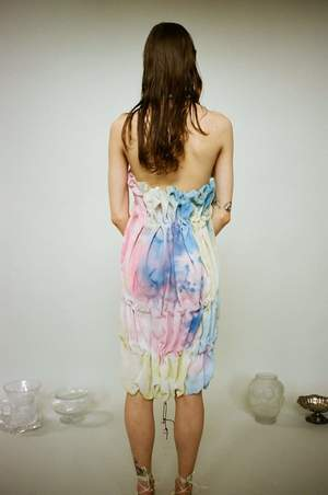 Bror August Halter String Dyed Dress