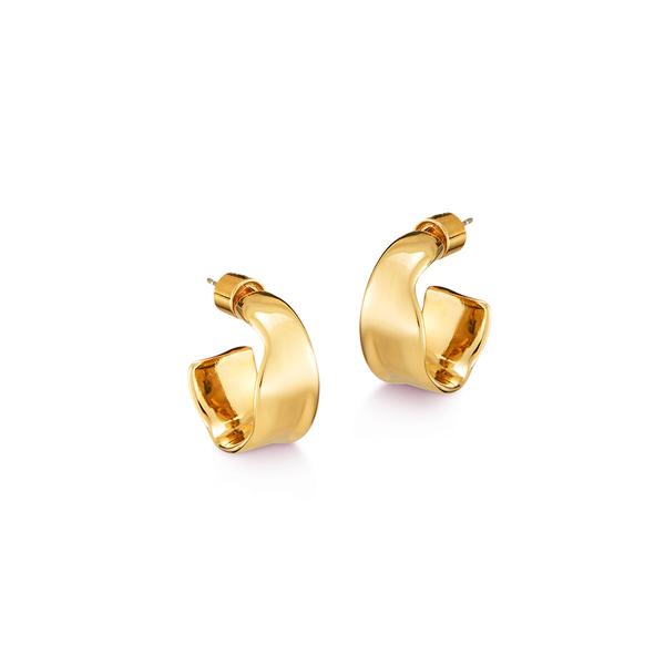 Jenny Bird Ora Hoops - Gold