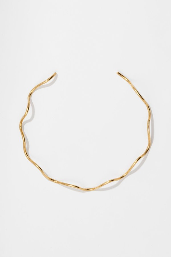 Body Double Chill Collar - Brass