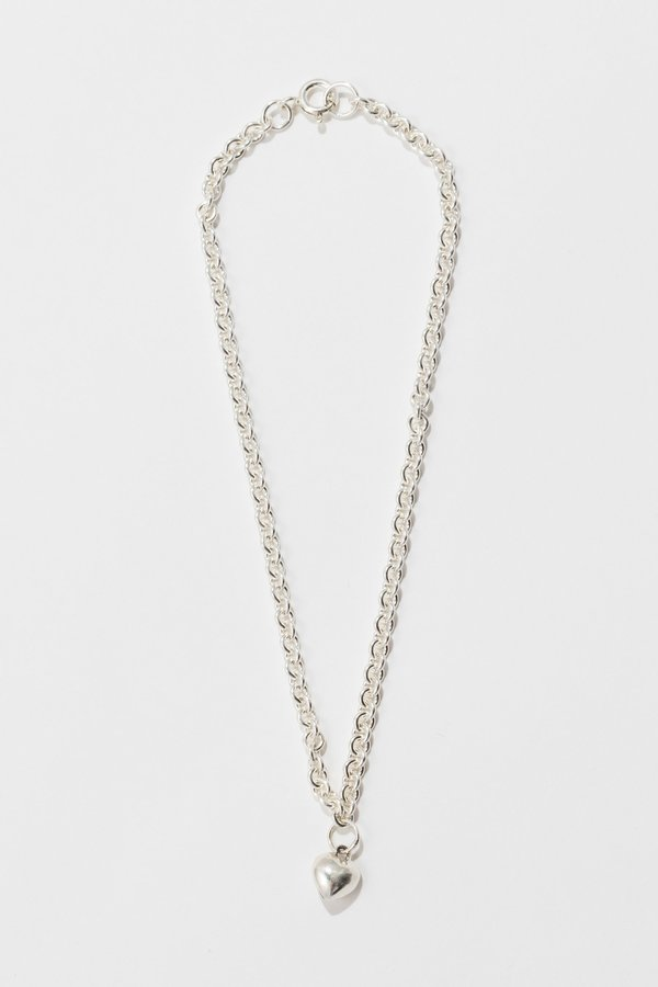 Body Double Sweetheart Anklet - Sterling Silver
