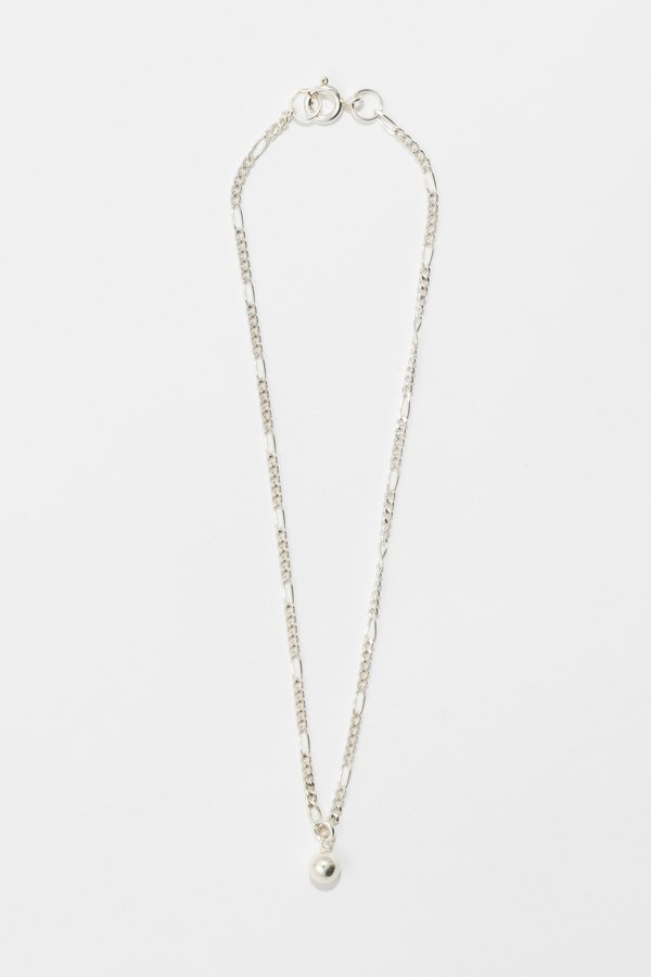 Body Double Wrecking Ball Necklace - Sterling Silver