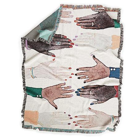 Clementine Studio Humanity Art Blanket