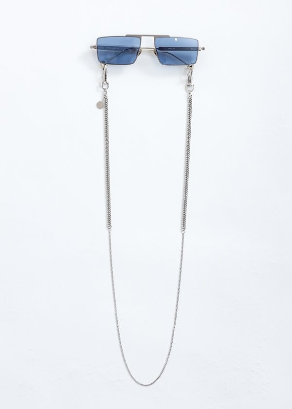 Études Studio Eastern Sunglasses With Chain - Silver