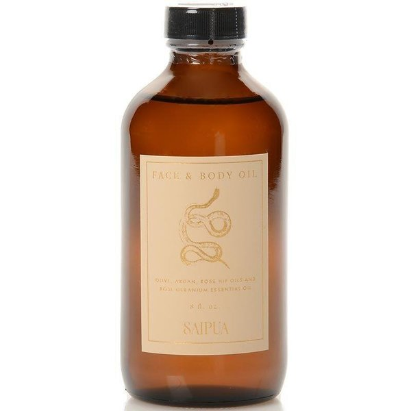 Saipua Rose Geranium Face & Body Oil