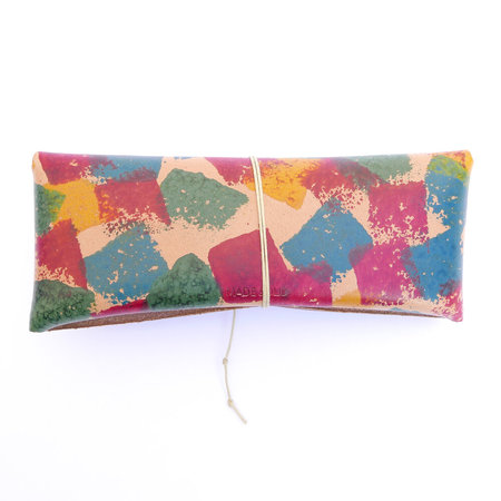 Made Solid Glasses Case - Collage Dye