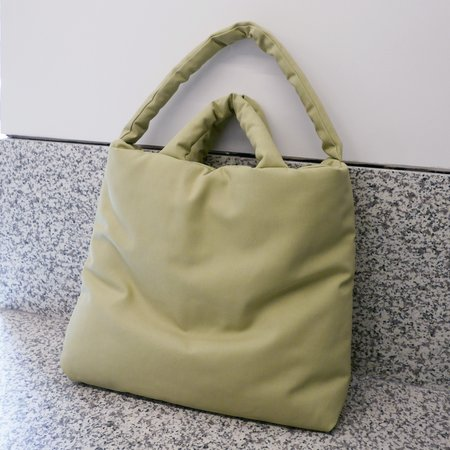 KASSL EDITIONS Canvas Bag Large - Green Tea