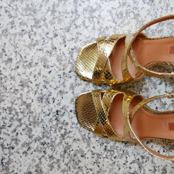 Rachel Comey Deuce Heel - Gold