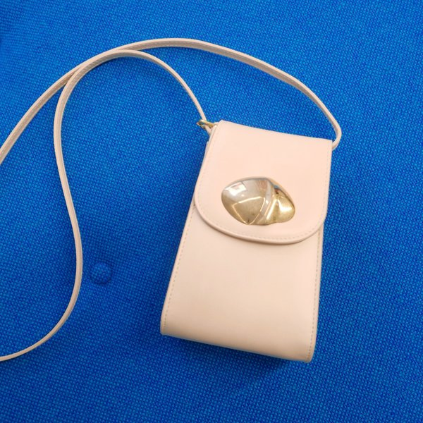 LITTLE LIFFNER Calf Leather Camera Bag - Crudo