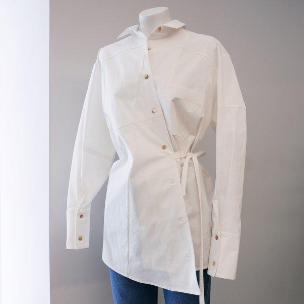 Rejina Pyo Tatiana Cotton Shirt - White