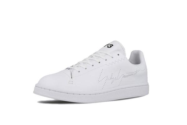 adidas x Y-3 Yohji Court Sneaker - White/White
