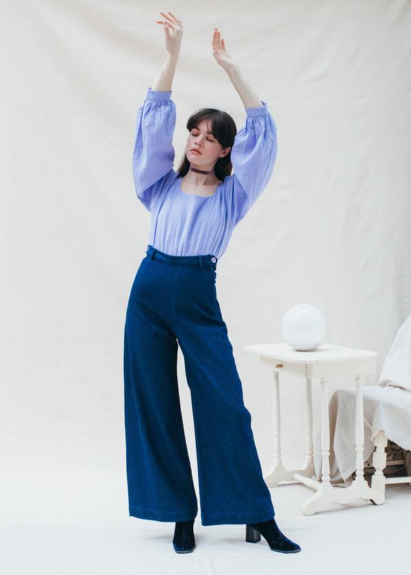 Samantha Pleet Phantasm Bodysuit - Lilac